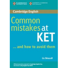 Common Mistakes at KET and how to avoid them - Cambridge
