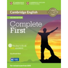 Complete FIRST with answers - Students Book + CD - Cambridge