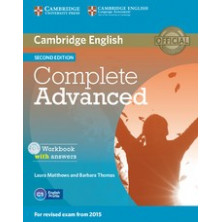 Complete ADVANCED with answers - Workbook + CD - Cambridge