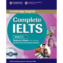Complete IELTS Bands 4-5 B1 with answers - Student's Book + CD - Cambridge