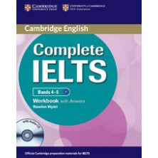 Complete IELTS Bands 4-5 B1 with answers - Workbook + CD - Cambridge