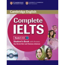 Complete IELTS Bands 5-6.5 B2 with answers - Student's Book + CD - Cambridge