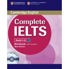 Complete IELTS Bands 5-6.5 B2 with answers - Workbook + CD - Cambridge