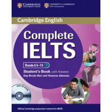 Complete IELTS Bands 6.5-7.5 C1 with answers - Student's Book + CD - Cambridge