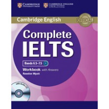 Complete IELTS Bands 6.5-7.5 C1 with answers - Workbook + CD - Cambridge