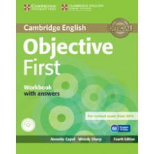 Objective FIRST with answers - Workbook + CD - Cambridge