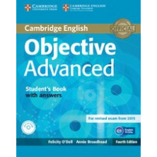 Objective ADVANCED with answers - Student's Book + CD - Cambridge
