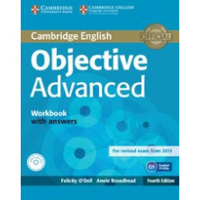 Objective ADVANCED with answers - Workbook + CD - Cambridge