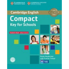 Compact KEY for Schools without answers - Student's Book + CD - Cambridge