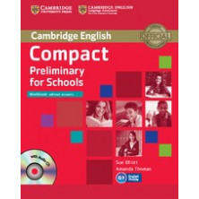 Compact Preliminary for Schools without answers - Workbook + CD - Cambridge
