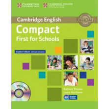 Compact FIRST for Schools without answers - Student's Book + CD - Cambridge