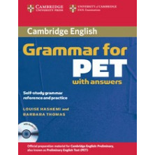 Grammar for PET with answers + CD - Cambridge