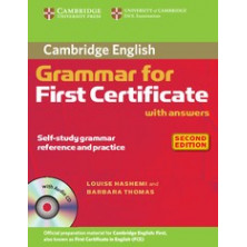 Grammar for FIRST with answers + CD - Cambridge