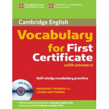 Vocabulary for FIRST with answers + CD - Cambridge