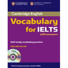 Vocabulary for IELTS with answers + CD - Cambridge