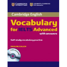 Vocabulary for IELTS Advanced with answers + CD - Cambridge