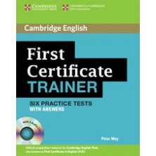 First Certificate Trainer with answers + CD - Cambridge