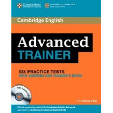 Advanced Trainer with answers + CD - Cambridge