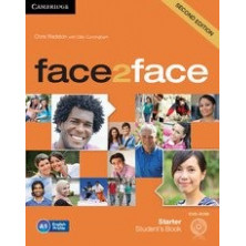 Face2face 2nd ED STARTER - Student's Book + DVD + Online Workbook - Cambridge