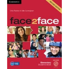 Face2face 2nd ED ELEMENTARY - Student's Book + DVD - Cambridge