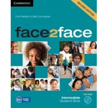 Face2face 2nd ED INTERMEDIATE - Student's Book + DVD + Online Workbook - Cambridge