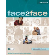 Face2face 2nd ED INTERMEDIATE - Workbook with key - Cambridge