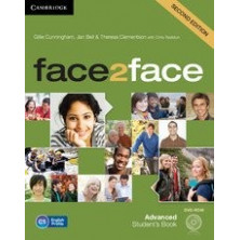 Face2face 2nd ED ADVANCED - Student's Book + DVD - Cambridge