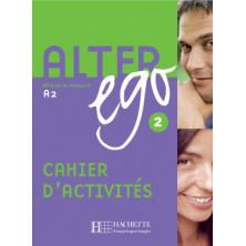Alter Ego 2 Cahier d'activités - Ed. Hachette