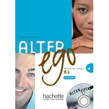 Alter Ego 4 Livre de l'élève + CD audio - Ed. Hachette