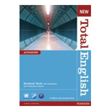 New Total English Advanced Student's Book + DVD / Active Book - Ed. Pearson