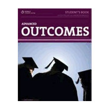 Outcomes Advanced Student's Book + Pinkcode + Vocab Builder - Ed. Heinle