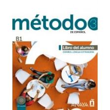 Método 3: Libro del alumno - Ed. Anaya