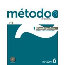 Método 3: Libro del profesor - Ed. Anaya