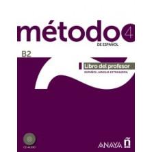 Método 4: Libro del profesor - Ed. Anaya
