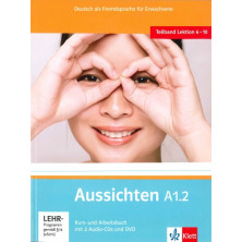 Aussichten A1.2 Libro del alumno + Cuaderno de ejercicios + CD + DVD - Ed. Klett