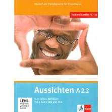 Aussichten A2.2 Libro del alumno + Cuaderno de ejercicios + CD + DVD - Ed. Klett