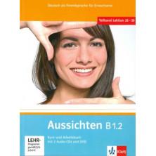 Aussichten B1.2 Libro del alumno + Cuaderno de ejercicios + CD + DVD - Ed. Klett