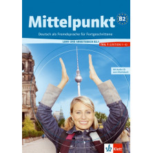 Mittelpunkt B2.1 - Libro del alumno + Cuaderno de ejercicios + CD - Ed. Klett