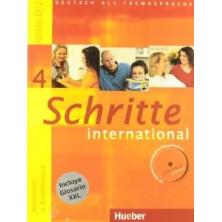 Schritte International 4: Libro del alumno + Cuaderno de ejercicios + CD + Glosario - Ed. Hueber