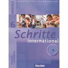 Schritte International 6: Libro del alumno + Cuaderno de ejercicios + CD + Glosario - Ed. Hueber