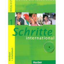 Schritte International 1: Libro del alumno + Cuaderno de ejercicios + CD + Glosario - Ed. Hueber