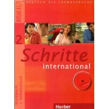 Schritte International 2: Libro del alumno + Cuaderno de ejercicios + CD + Glosario - Ed. Hueber