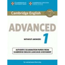 Cambridge English ADVANCED 1 for revised exam from 2015: Student's Book with answers and Audio CD - Cambridge