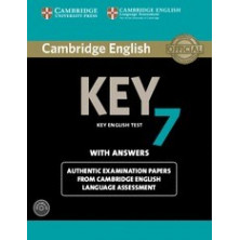 Cambridge English Key 7: Student's Book with answers and Audio CD - Cambridge