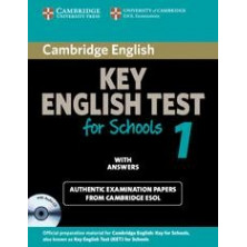Cambridge Key English for Schools 1: Student's Book with answers and Audio CD - Cambridge