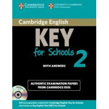 Cambridge Key English for Schools 2: Student's Book with answers and Audio CD - Cambridge