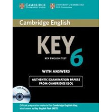 Cambridge English Key 6: Student's Book with answers and Audio CD - Cambridge