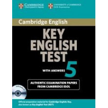Cambridge Key English Test 5: Student's Book with answers and Audio CD - Cambridge