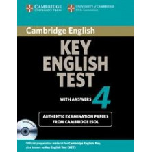 Cambridge Key English Test 4: Student's Book with answers and Audio CD - Cambridge