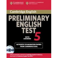 Cambridge Preliminary English Test 5: Student's Book with answers and Audio CD - Cambridge